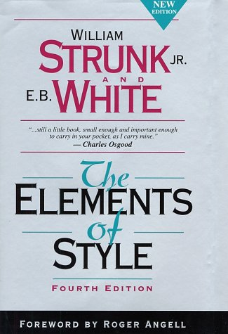 The Elements of Style cover.