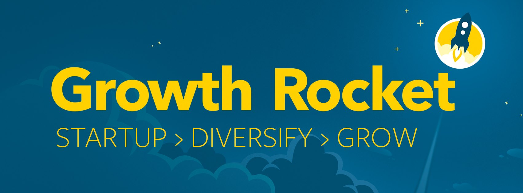 Growth Rocket Banner