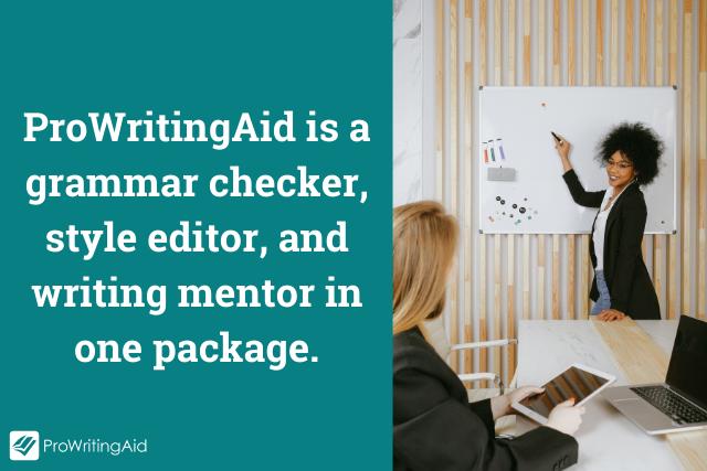 ProWritingAid is a writing coach