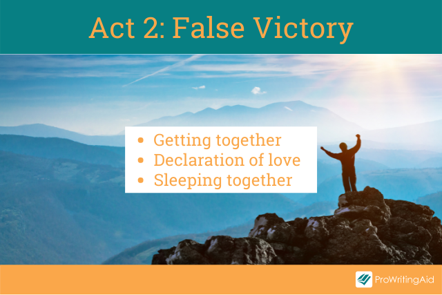 Act 2, the false victory