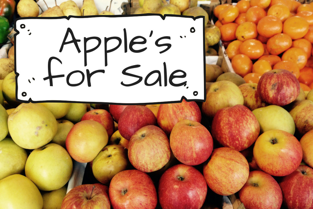 Apple's for Sale