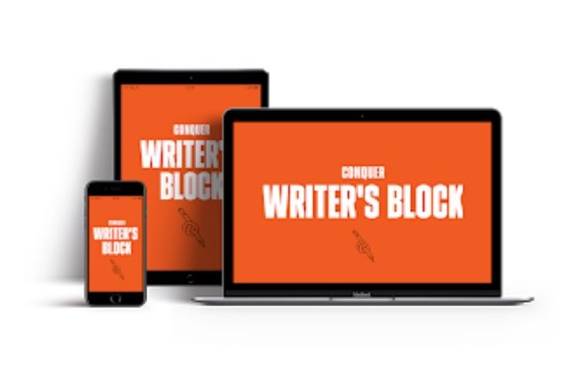 Conquer writers block