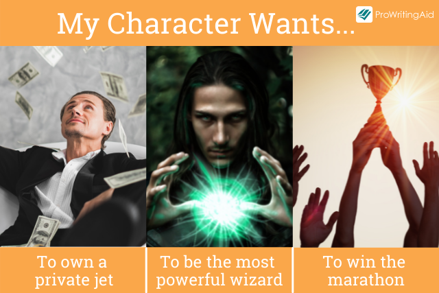 Character wants