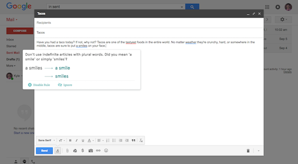 gmail demo