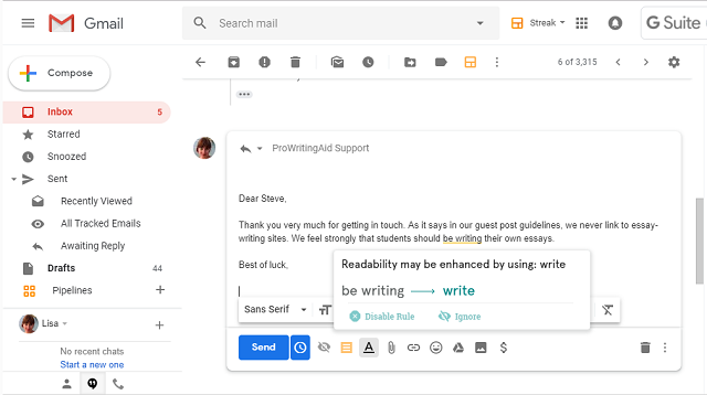 The Best Chrome Extension for Grammar and Writing Style