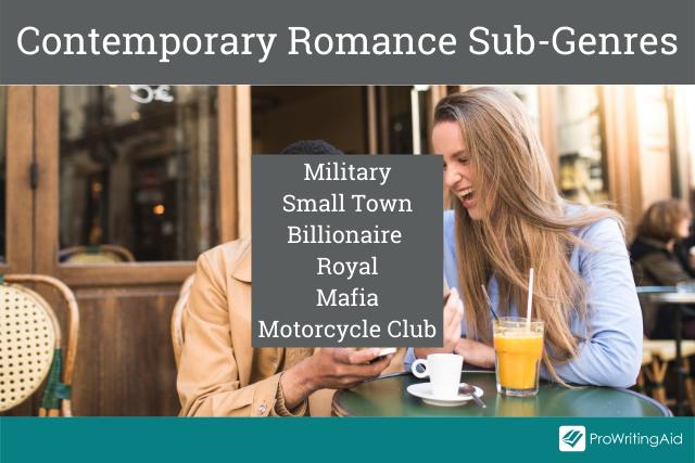 Contemporary romance subgenres