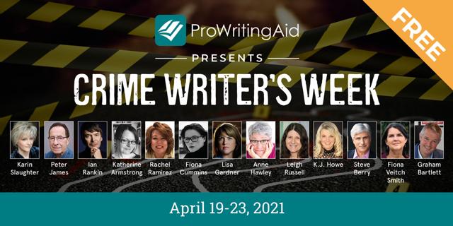 Crime Writer's Week Banner