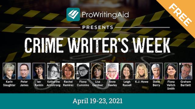 crime writer's week graphic