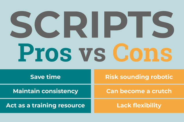 The Pros and Cons of Customer Service Scripts
