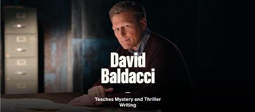 David Baldacci teachers thriller writing