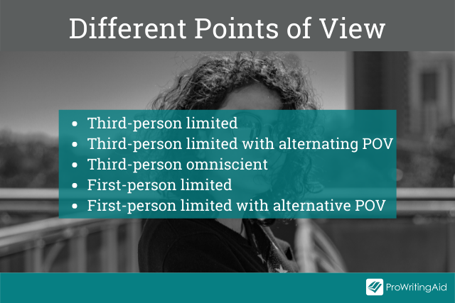 The different point of views for a romance novel