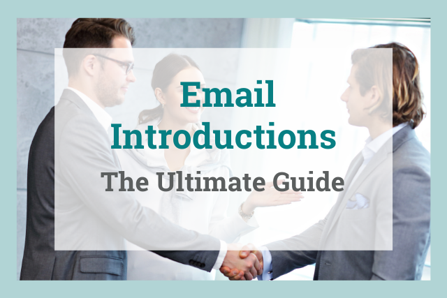 How to write introduction emails