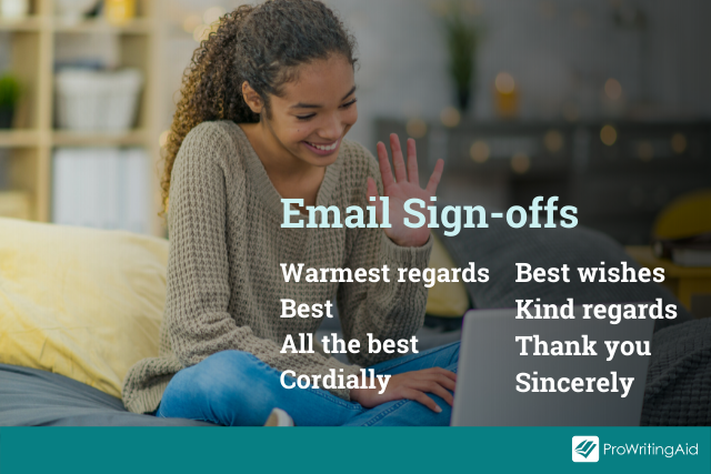 Email sign-off examples