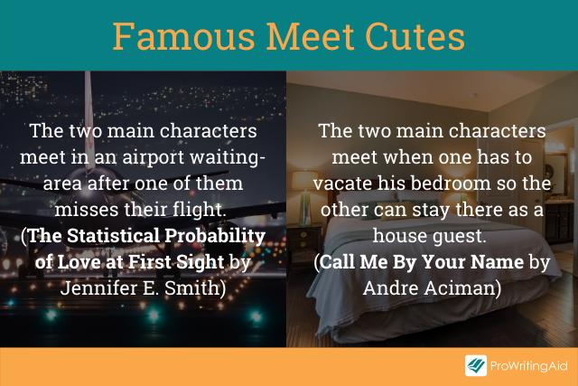 Famous meet cutes