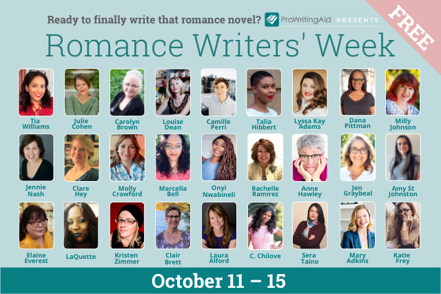 romance writers week cover image