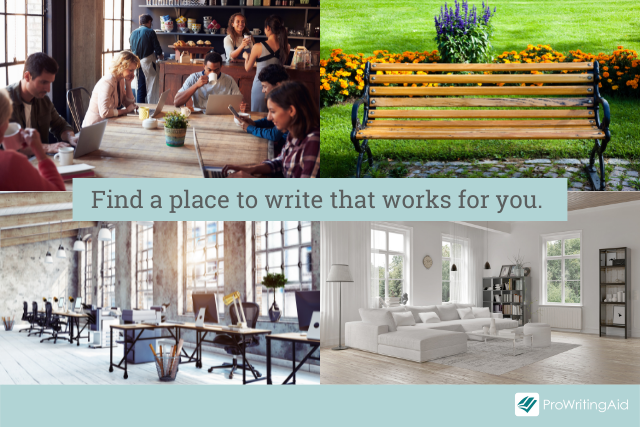 Find a place to write