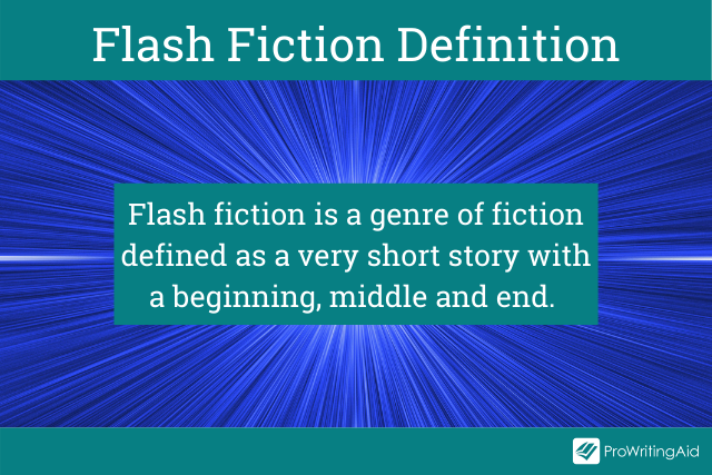 The definition of flash fiction