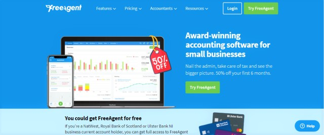 FreeAgent for Accounting
