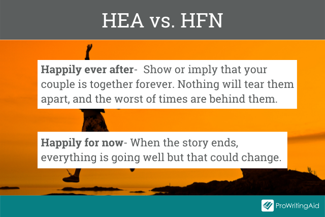Happily ever after versus happily for now