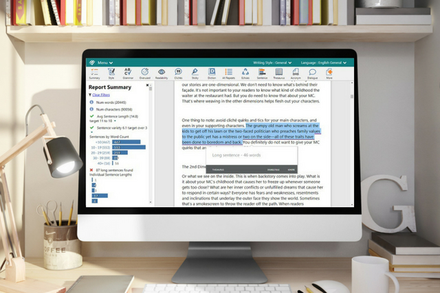 Why You Should Be Using ProWritingAid's Sentence Length Report