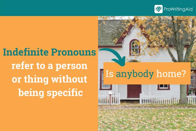 Indefinite Pronouns Definition