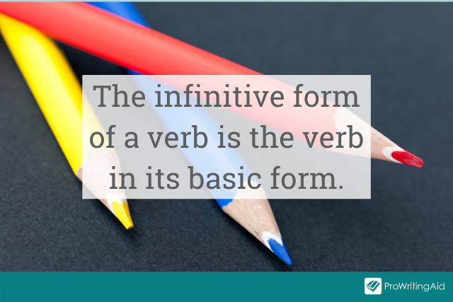 what is the infinitive form