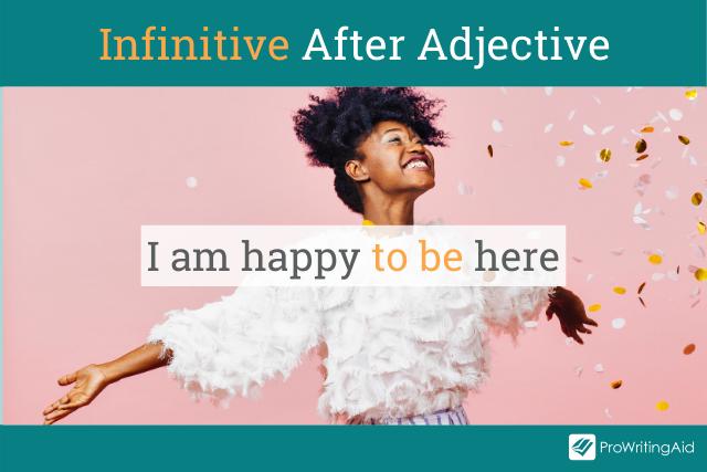 infinitive after an adjective
