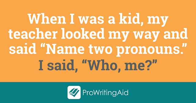 Pronouns joke