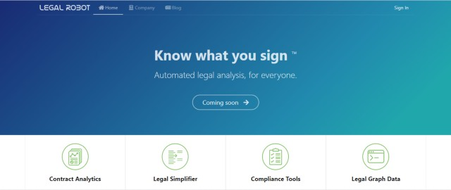 Legal Robot for Legal Documents