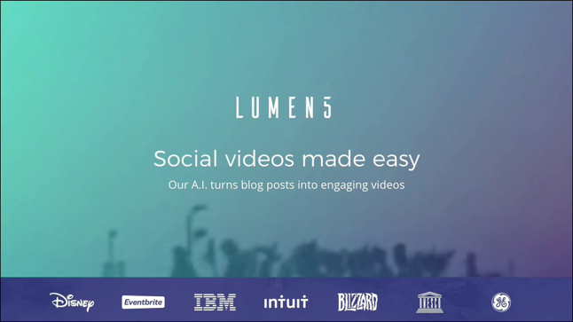 How Lumen5 Turned This Writer Into a Video Maker