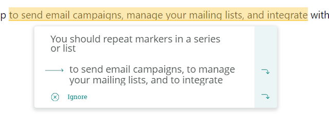 Mailchimp Style Guide Sequences Rule Automation