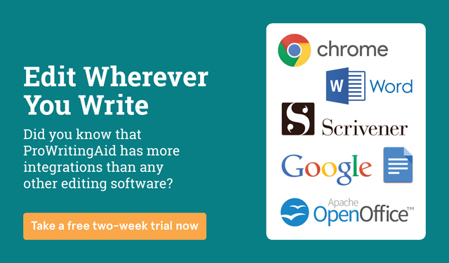 Try ProWritingAid's software integrations