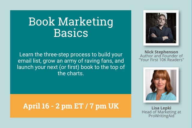 Webinar: Book Marketing Basics