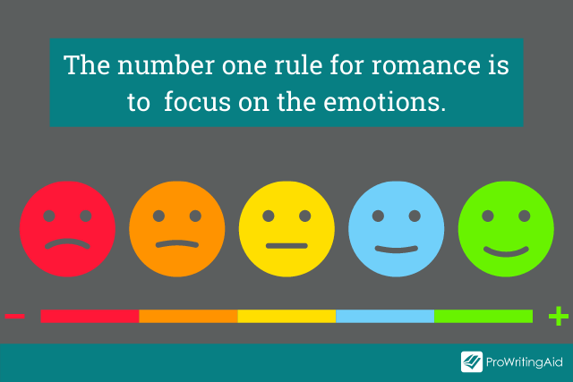The number one rule for writing a romance