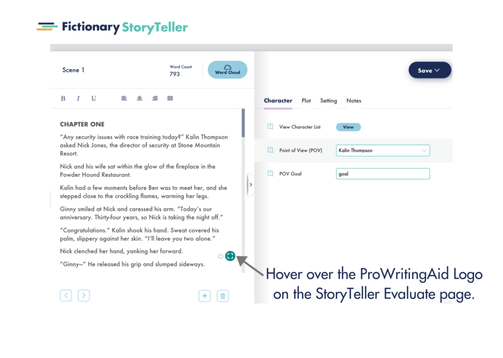 fictionary and prowritingaid