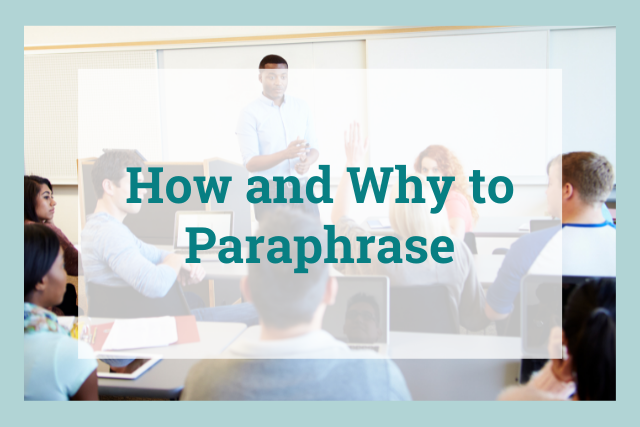 A Complete Guide for How to Paraphrase