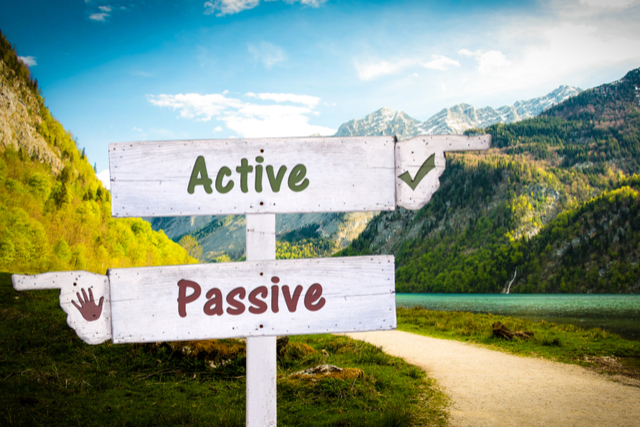 Changing Passive Voice to Active Voice