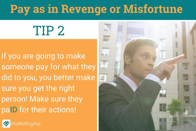 Pay as In Revenge Tip