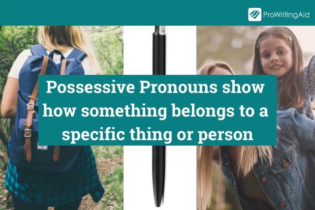 Possessive Pronouns Definition