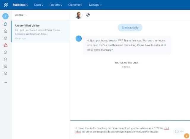 ProWritingAid for Customer Service