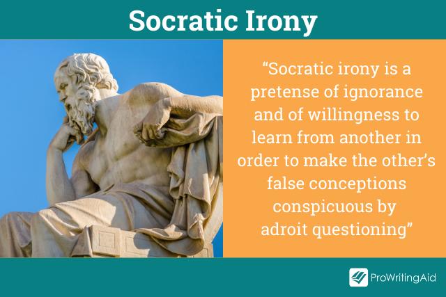 Socratic Irony Definition