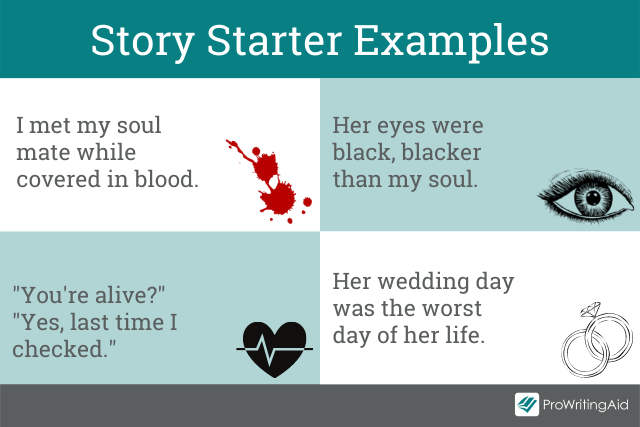Possible story starters