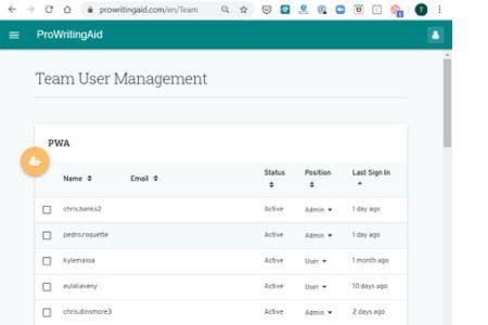 Team User Management