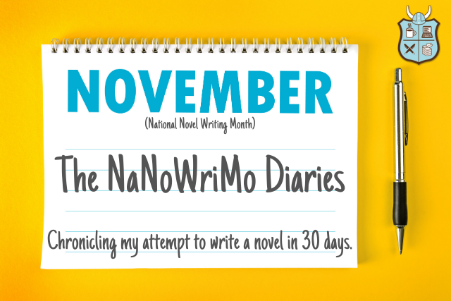 What is it like to do NaNoWriMo? Here is one author's diary