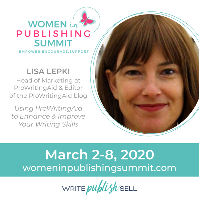 Join Me at the Women in Publishing Summit