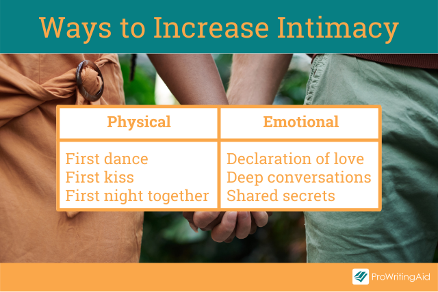 Ways to increase the intimacy