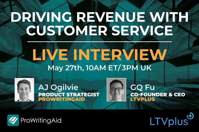 Driving Revenue with Customer Service Webinar