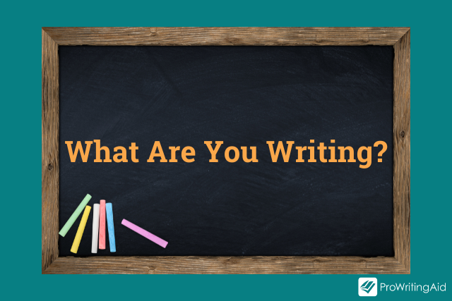 What are you writing?