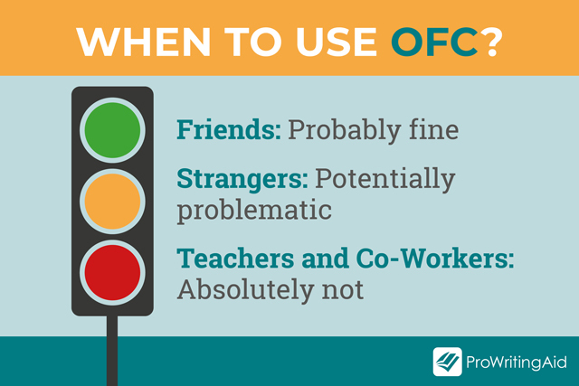 Who you can use OFC with