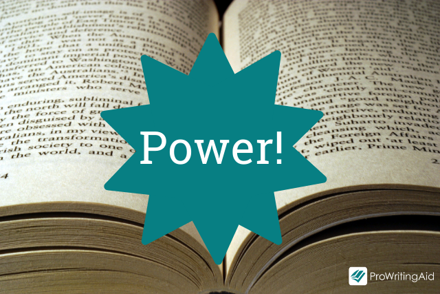 Give your writing power